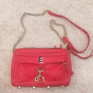 Rebecca Minkoff MAC Crossbody Bag- red